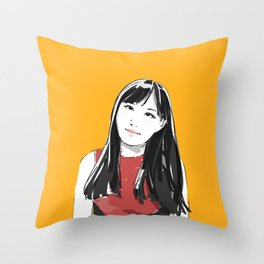 """melanie"" Throw Pillow"