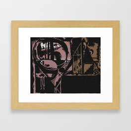 Tour Group Framed Art Print