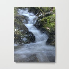 Flowing Water Metal Print