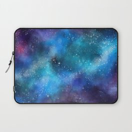 Abstract Galaxy Space Paint Pattern Texture #9 Laptop Sleeve