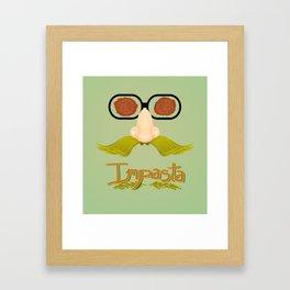 Impasta Framed Art Print