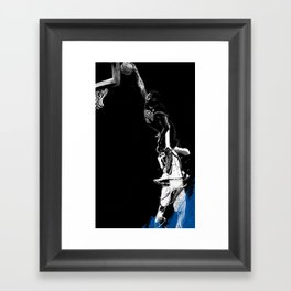 Vince Carter Olympic Dunk Framed Art Print