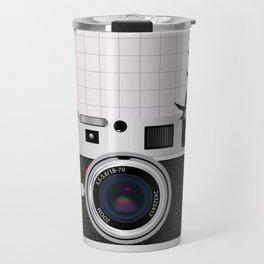 vintage camera and birds Travel Mug