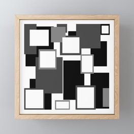 Blank Frames Framed Mini Art Print