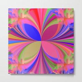 Colorful Kaleidoscope Metal Print