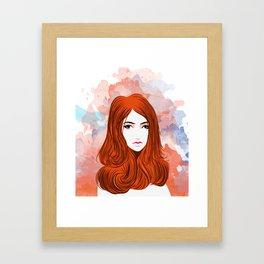 Emotion Girls Framed Art Print