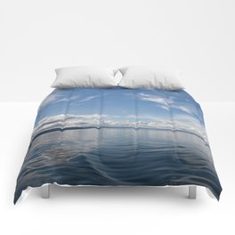 Infinite: Oslo Harbor Comforters