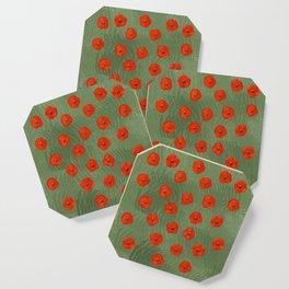 Flower Poppy Coaster