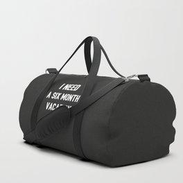 The Vacation Art I Duffle Bag