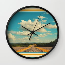 199 | hill country Wall Clock