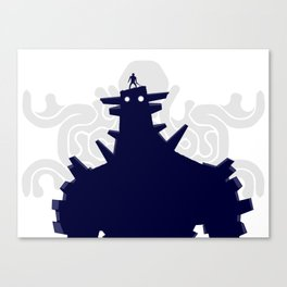 Shadow of the Colossus - Gias Canvas Print