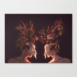 All My Friend Are Heathens Canvas Print