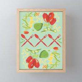 Cucina Italiana Framed Mini Art Print