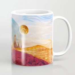 13th Doctor at Gallifrey Planet Coffee Mug