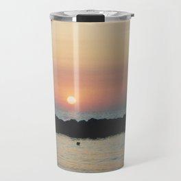 Sunset Ocean Bliss #3 #nature #art #society6 Travel Mug