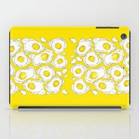 eggs iPad Cases featuring eggs by AnnaToman