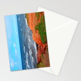 Rolling Waves in East Point PEI Stationery Cards