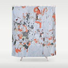 Peeling paint Textures 20 Shower Curtain