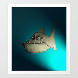 Piranha (Spot Lite) Art Print