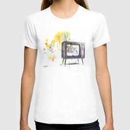 Retro Television Painting T-shirt
