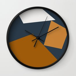 Abstract Geometric 25 Wall Clock