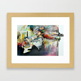 Sensory Overload Framed Art Print