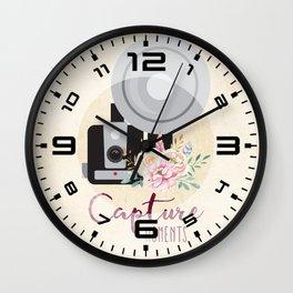 Capture moments #1 Wall Clock