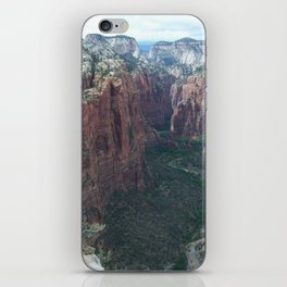Angels Landing, Zion National Park iPhone Skin