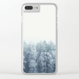 Frosty feelings Clear iPhone Case