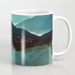 Indigo Mountains Coffee Mug