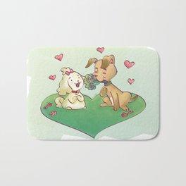 Spavinho in Love Bath Mat