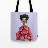 fancy Tote Bags featuring Fancy by Coily and Cute