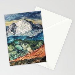 Pikes Peak Print Stationery Cards
