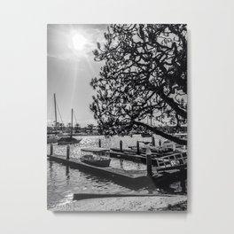 Simply Lido Isle Metal Print