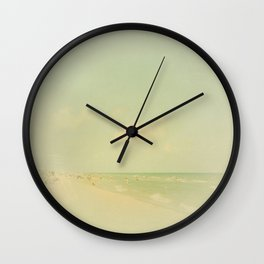 One Summer Day Wall Clock
