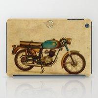 ducati iPad Cases featuring Ducati 125 Aurea 1958 by Larsson Stevensem