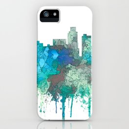 Los Angeles Skyline - SG Jungle iPhone Case