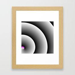 Love Swirl Framed Art Print