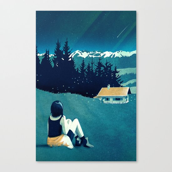 Magical Solitude Canvas Print