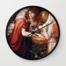 Dante Gabriel Rossetti - La Bella Mano Wall Clock