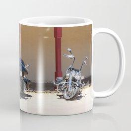 Motorcycle Parade Coffee Mug