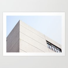Abstract architecture photography Art Print