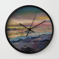 heaven Wall Clocks featuring Heaven by Michael Creese