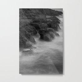 Muriwai NZ Metal Print
