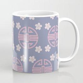 Pastel Oriental Pattern Coffee Mug