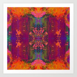 Acidwash Art Print