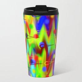 Seas of Colors Metal Travel Mug