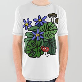 Nature  All Over Graphic Tee