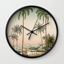 Tree cocos botryophora L 6 Wall Clock