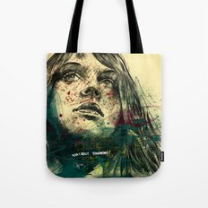 about tommorow Tote Bag